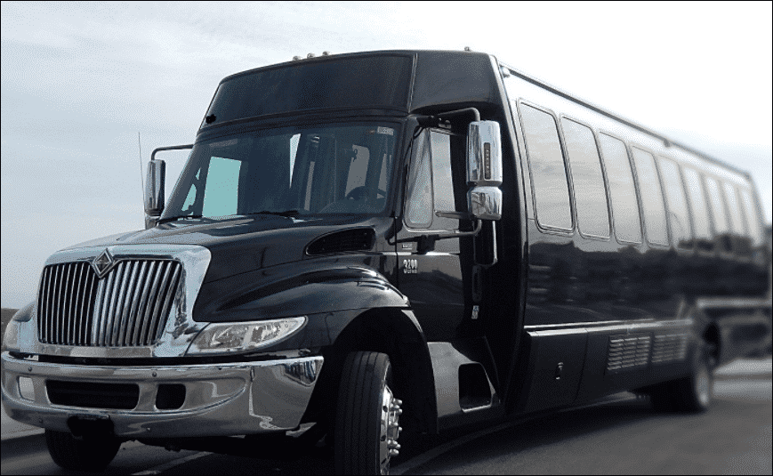 36 Passenger Party Bus Rental - Unlimited Charters