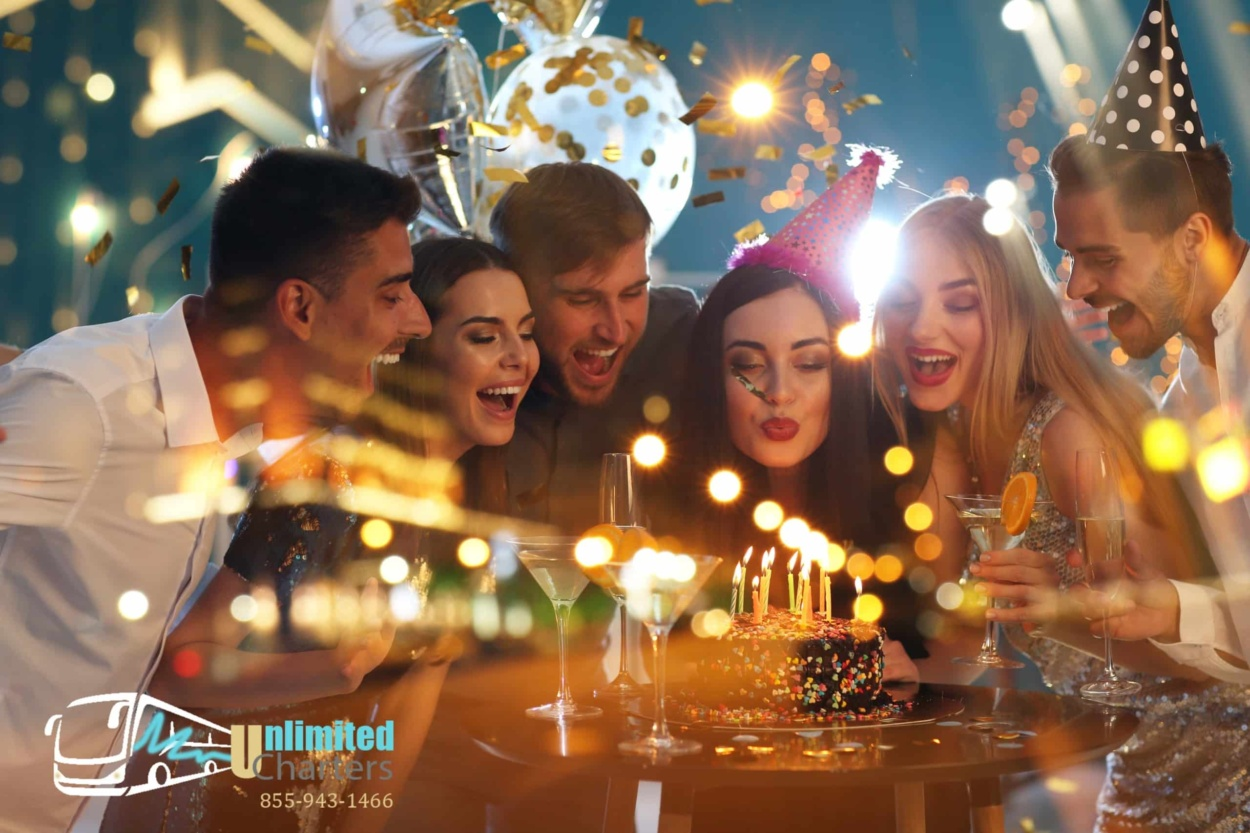 Birthday Party Bus - Unlimited Charters