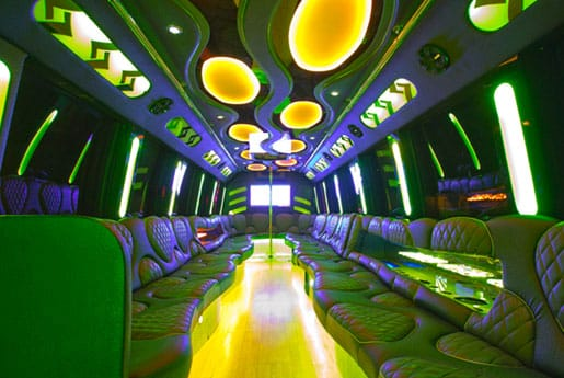 30 Passenger Party Bus Rental